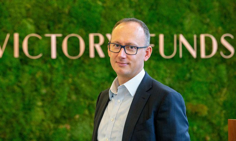 """Rokas Lukošius, finansų specialistas, investuotojas ir investicijų valdymo įmonės """"Victory funds"""" vadovas. Juditos Grigelytės (VŽ) nuotr."""