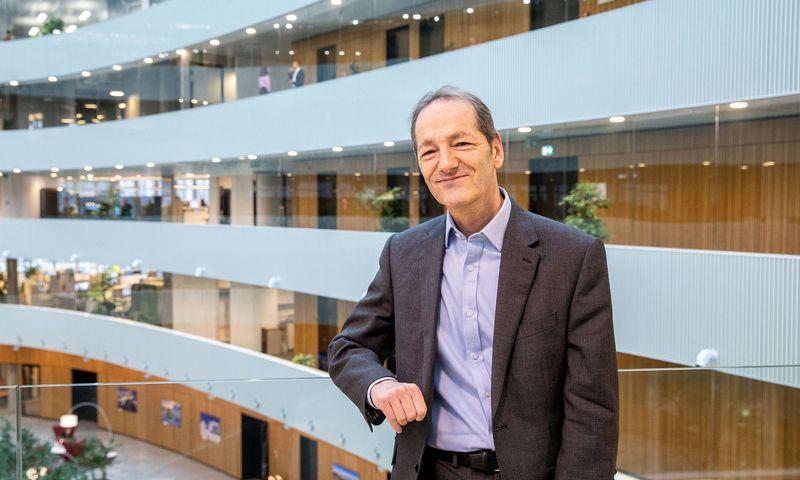 """""""Savo valdysenos modelius verslas turės kalibruoti taip, kad jų centre būtų gabūs, efektyviai dirbantys specialistai"""", – akcentuoja Stephenas Page'as, """"Nasdaq"""" korporatyvinio valdymo centro vadovas Europoje. Juditos Grigelytės (VŽ) nuotr."""