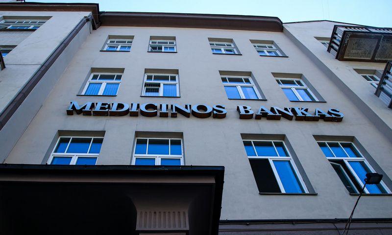 """""""Medicinos banko"""" pastatas Vilniuje. Vladimiro Ivanovo (VŽ) nuotr."""