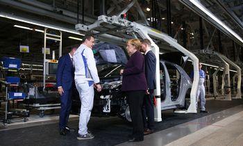 Vokietijos pramonės susitraukimas – didžiausias per 10 metų