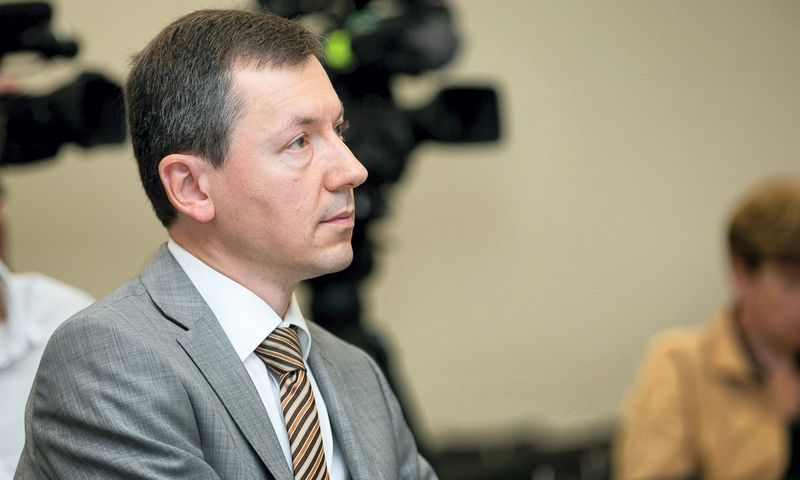 Algirdas Bartkus, Vilniaus universiteto docentas. Žygimanto Gedvilos (15min) nuotr.