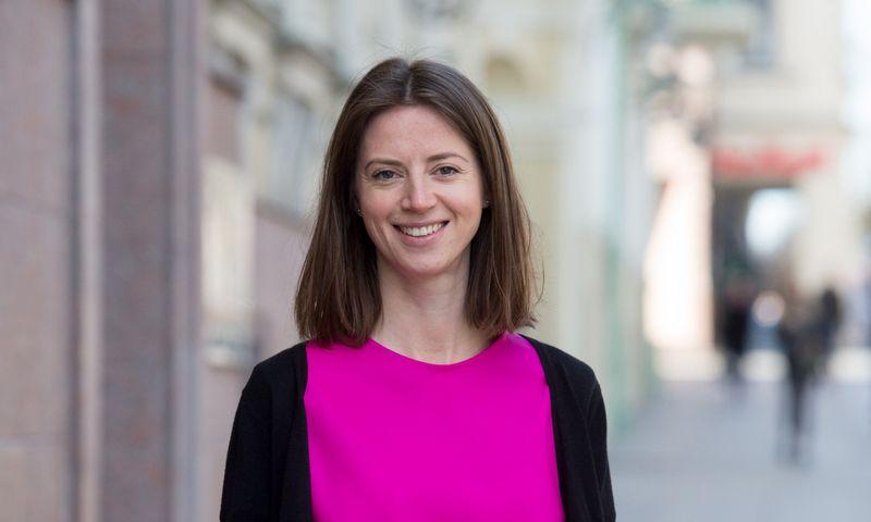 """Jekaterina Govina, Lietuvos banko Priežiūros tarnybos vadovė: """"Tikimės, kad šis klausimas neįstrigs biurokratiniuose vingiuose."""" Juditos Grigelytės (VŽ) nuotr."""