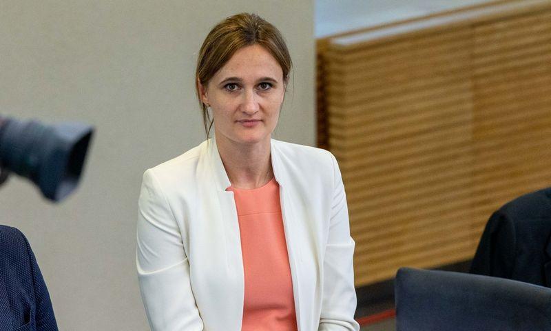 Viktorija Čmilytė-Nielsen, Liberalų sąjūdžio pirmininkė. Juditos Grigelytės (VŽ) nuotr.