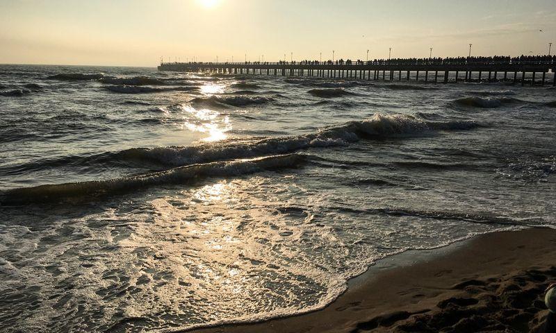 Ošiant jūrai norėjosi rėkti – viskas buvo taip atvira, be pradžios ir pabaigos. Juditos Grigelytės (VŽ) nuotr.