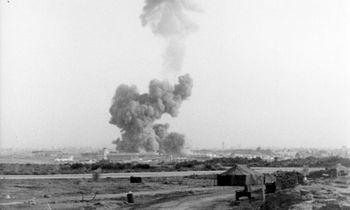 Iliustruotoji istorija: 1983 m. savižudžio išpuolis Beirute