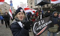 Minske vėl surengta integracijos su Rusija priešininkų protesto akcija