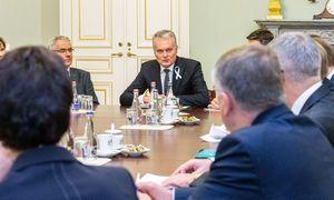 G. Nausėda prieš derybas sveikina Ukrainos ambiciją siekti taikos, kritikuoja Rusiją