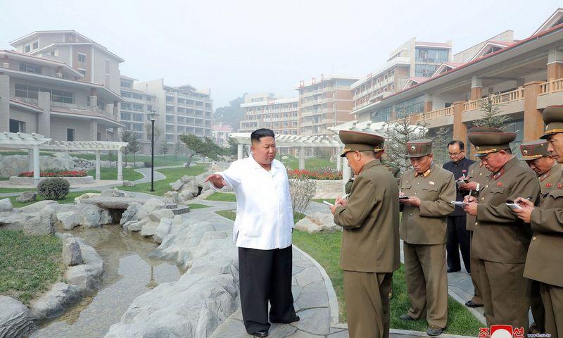 "Kim Jong Unas, Šiaurės Korėjos lyderis. KCNA (""Scanpix"") nuotr."