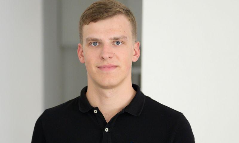 """Gustas Germanavičius, NT paskolų platformos """"EvoEstate"""" vadovas. Asmeninė nuotr."""