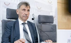 Biudžeto ir finansų komitetas dėl bankų turto mokesčio daro pertrauką
