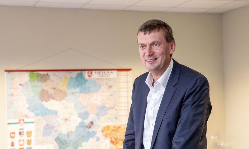 """Dainius Dundulis, UAB """"Rivona"""" generalinis direktorius ir UAB """"Norfos mažmena"""" valdybos pirmininkas. Juditos Grigelytės (VŽ) nuotr."""
