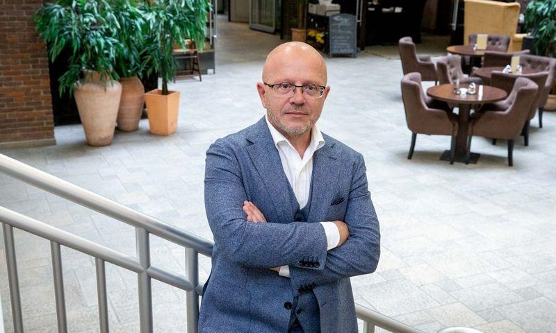 """Ričardas Jarmalavičius, """"Publicum"""" valdybos pirmininkas. Juditos Grigelytės (VŽ) nuotr."""