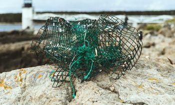 Mažinant vandenynų taršą, panaudota žvejybinė technika prikelta naujam gyvenimui