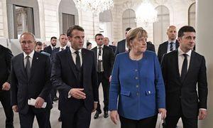 """""""Normandijos ketverto"""" susitikime sutarta įgyvendinti paliaubas iki šių metų pabaigos"""