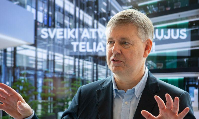 """Danas Strombergas, """"Telia Lietuvos"""" vadovas. Juditos Grigelytės (VŽ) nuotr."""
