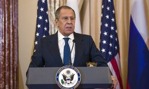 Su D. Trumpu susitikęs S. Lavrovas neigia, kad buvo perspėtas nesikišti į JAV rinkimus