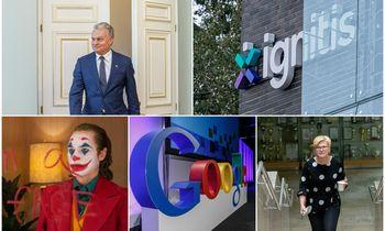 """Populiariausios """"Google"""" paieškos Lietuvoje: rinkimai, """"Ignitis"""" ir """"Džokeris"""""""