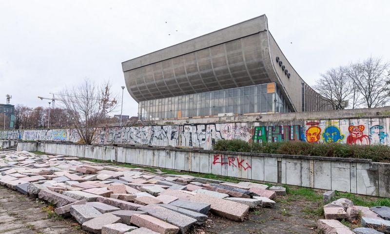 Dabar planuojama, kad kongresų centras dabartinių Sporto rūmų vietoje savo veiklą turėtų pradėti 2022 m. pabaigoje – 2023 m. pradžioje. Juditos Grigelytės (VŽ) nuotr.