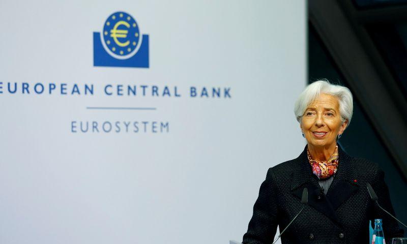 "ECB prezidentė Christine Lagarde. Ralph Orlowski (""Reuters"" / ""Scanpix"") nuotr."