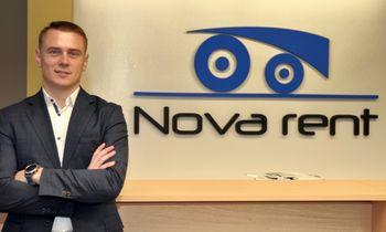 """Naudotos technikos paklausa skatina """"Nova rent"""" plėtrą"""