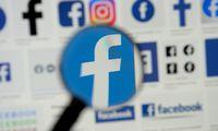 """""""Facebook"""" skirs 130 mln. USD nepriklausomai turinio valdymo tarybai sukurti"""