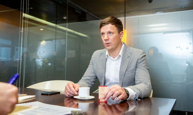 Mindaugas Navickas, investuotojas. Juditos Grigelytės (VŽ) nuotr.