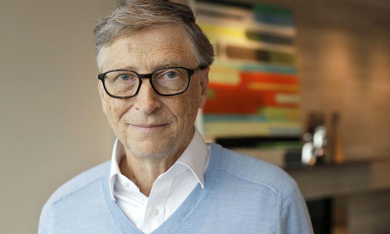 """B. Gatesas savo tinklaraštyje vardija labiausiai šįmet jam patikusias knygas. Tad S. Warren (AP/""""Scanpix"""") nuotr."""