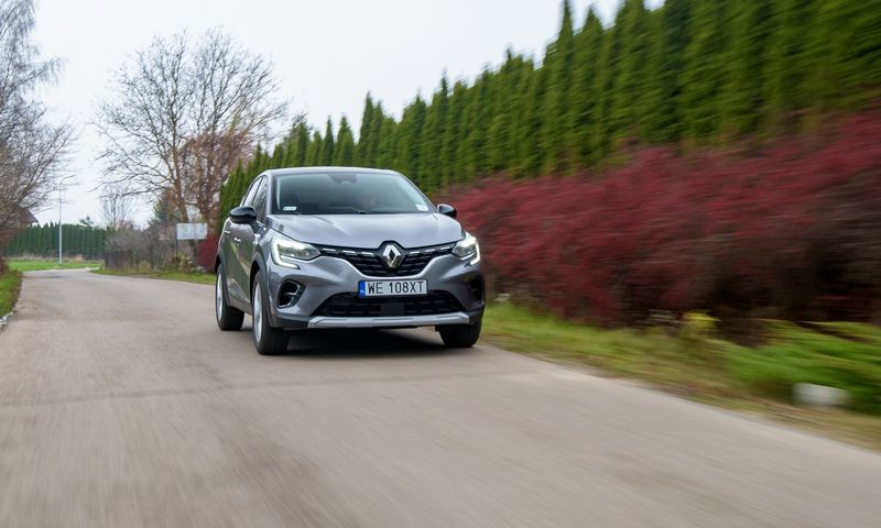 """""""Renault Captur"""". Gamintojo nuotr."""