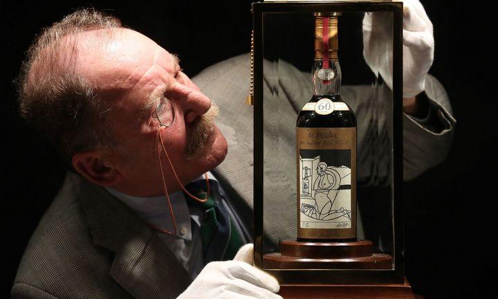 Paskelbtas unikalios škotiško viskio kolekcijos išpardavimas