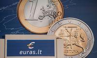 Dėl atpigusio skolinimo sutaupėme per 600 mln. Eur, trečdalį dėl euro