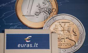 Dėl atpigusio skolinimo sutaupėme per 600 mln. Eur- trečdalį dėl euro