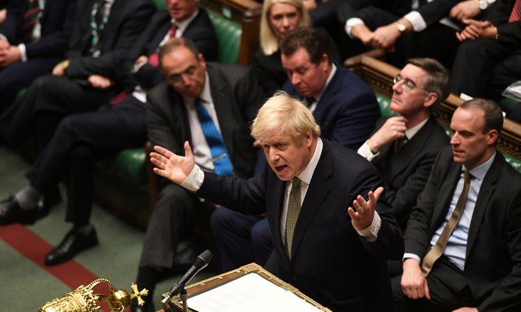 """Naujos sudėtiesJK parlamentas balsuos dėl B. Johnsono """"Brexit"""" sutarties"""