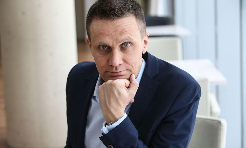 """Dalius Morkvėnas, Nacionalinės turizmo skatinimo agentūros """"Keliauk Lietuvoje"""" direktorius. Vladimiro Ivanovo (VŽ) nuotr."""