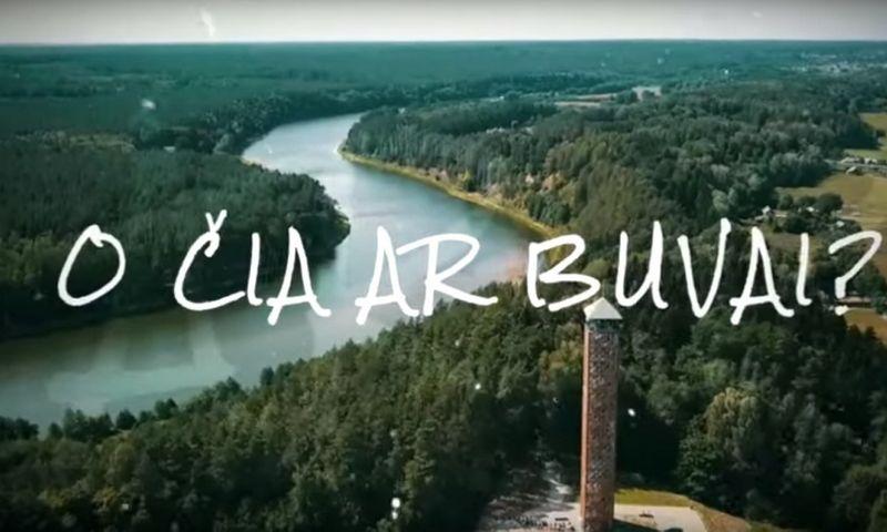 """""""Keliauk Lietuvoje"""" iliustracija"""
