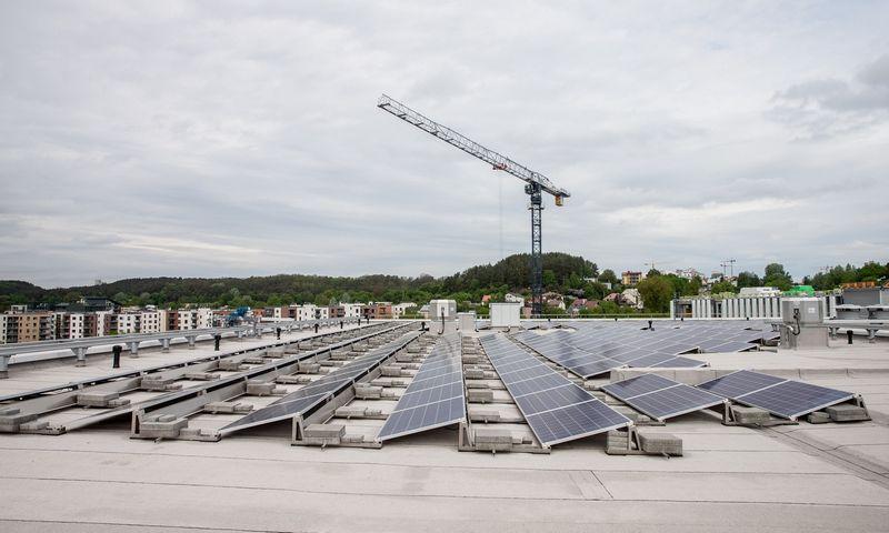 Tikrasis žaliasis postūmis 2019-aisiais įvyko saulės energetikoje. Juditos Grigelytės (VŽ) nuotr.