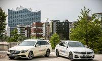 """BMW ir """"Daimler"""" pavėžėjimo platforma meta iššūkį """"Uber"""""""
