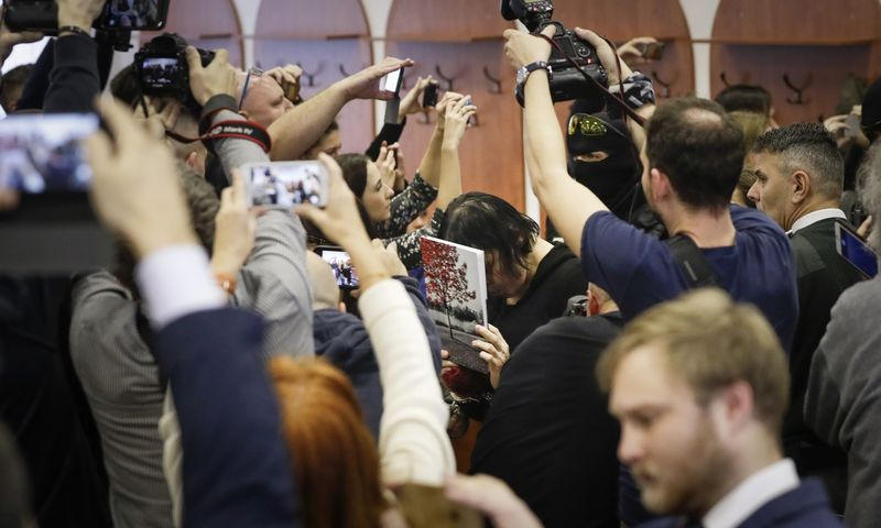 "Petr David Josek (""AP Photo"" / ""Scanpix"") nuotr."
