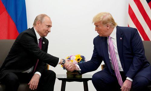 V. Putinas dėkoja D. Trumpui už žvalgybos informaciją