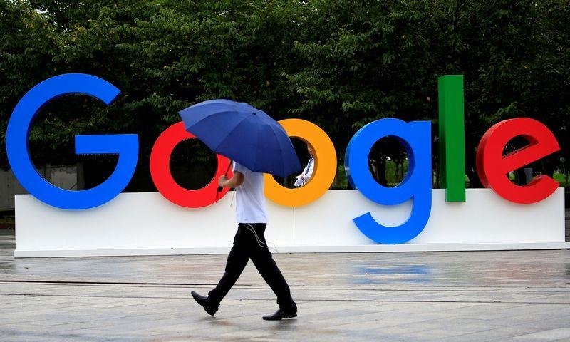 """""""Google"""" spirginama ne tik Europoje, bet ir Jungtinėse Valstijose. Aly Songo / """"Reuters"""" nuotr."""