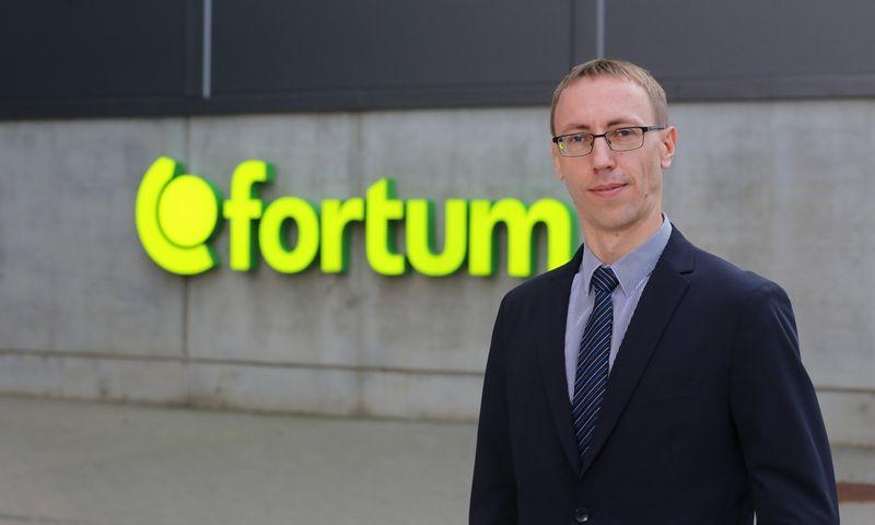 """Donatas Petronis, UAB """"Fortum Klaipėda"""" vadovas. Bendrovės nuotr."""