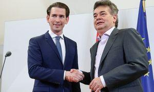 Austrijos centro dešinieji ir žalieji sutarė formuoti vyriausybę