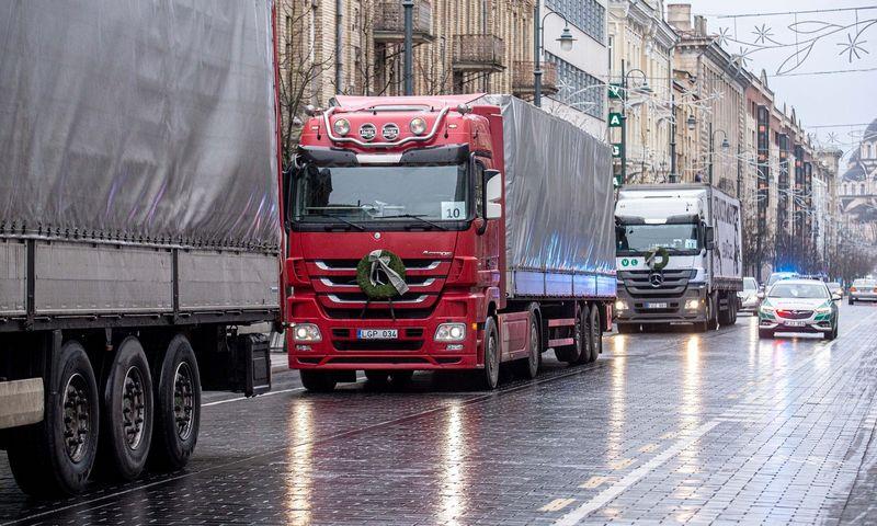 Didžiausią paslaugų eksporto ir importo dalį sudarė transporto paslaugos. Juditos Grigelytės (VŽ) nuotr.