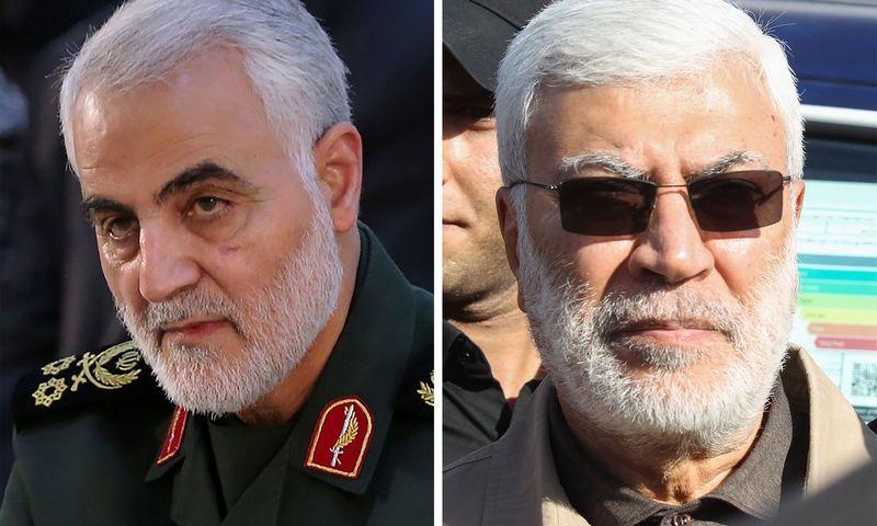 "Qasemas Soleimani. AFP / ""Scanpix"" nuotr."