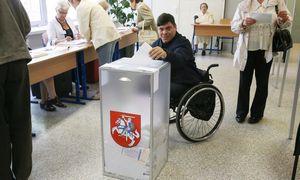 Balsavimo patalpos privalės būti pritaikytos neįgaliesiems