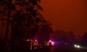 Australijoje siaučiantys gaisrai sukėlė pavojų elektros tiekimui į Sidnėjų
