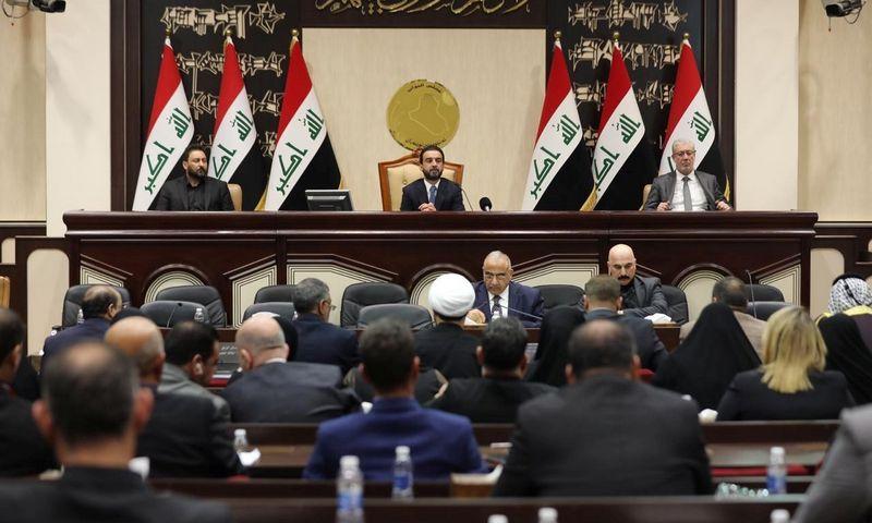 "Irako parlamentas. ""Reuters"" / ""Scanpix"" nuotr."