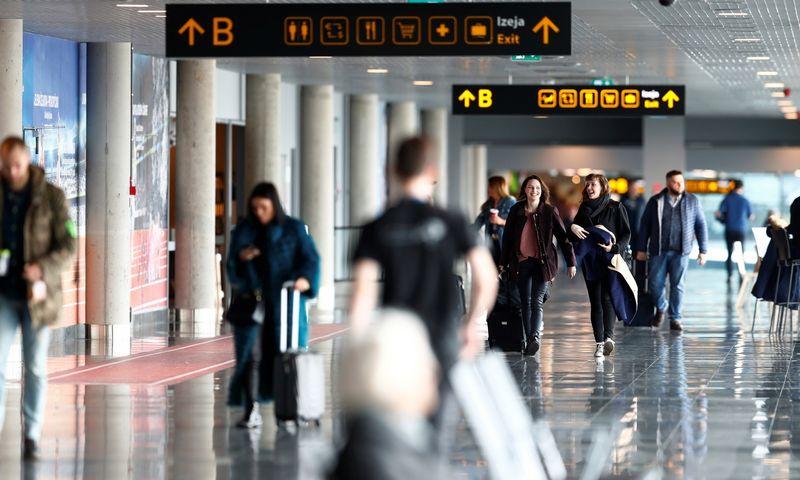 "Rygos oro uostas. Ints Kalnins (""Reuters"" / ""Scanpix"") nuotr."