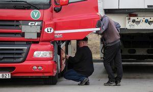 Darbo inspekcija: transporto įmonėse daugėja nedeklaruoto darbo atvejų
