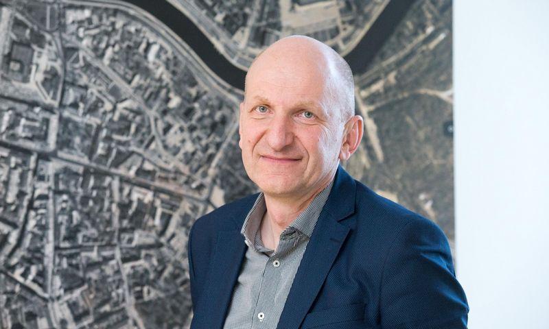 Mindaugas Pakalnis, vyriausiasis Vilniaus miesto architektas. Juditos Grigelytės (VŽ) nuotr.