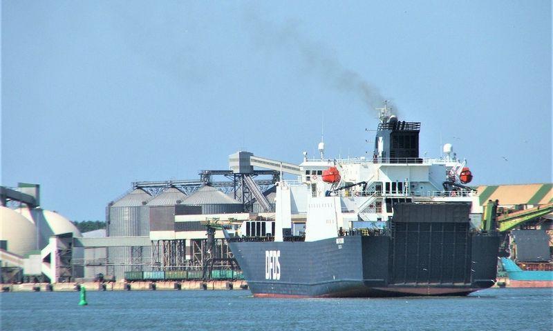 Klaipėdos valstybinis jūrų uostas Lino Butkaus (VŽ) nuotr.